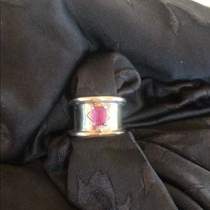 Jewelry - Sterling 💯 silver ring - Custom Made
